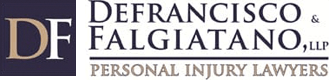 Logo of DeFrancisco & Falgiatano, LLP Personal Injury Lawyers