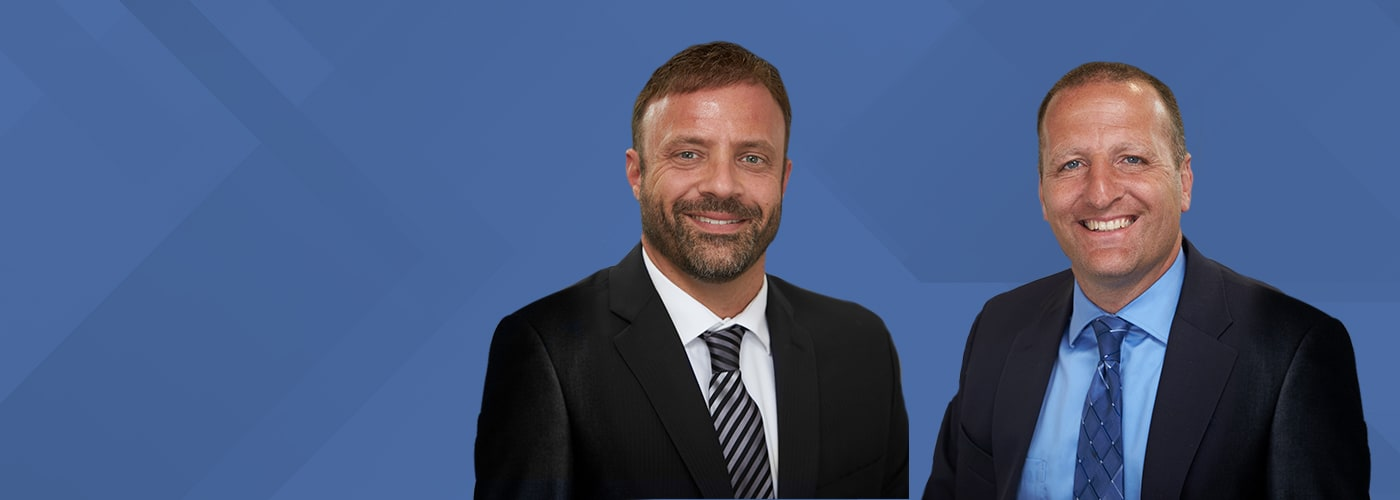 Attorneys Jeff D. DeFrancisco and Charles L. Falgiatano