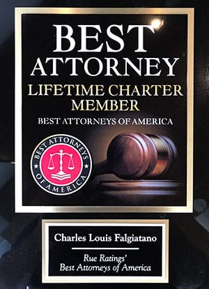 Charles Falgiatano Best Attorney Award